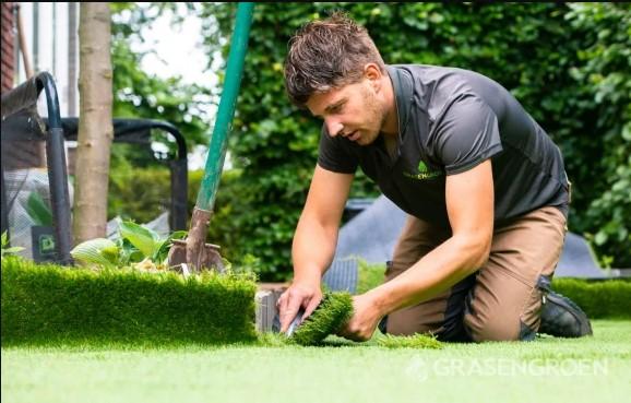 kunstgras laten leggen door Gras en Groen